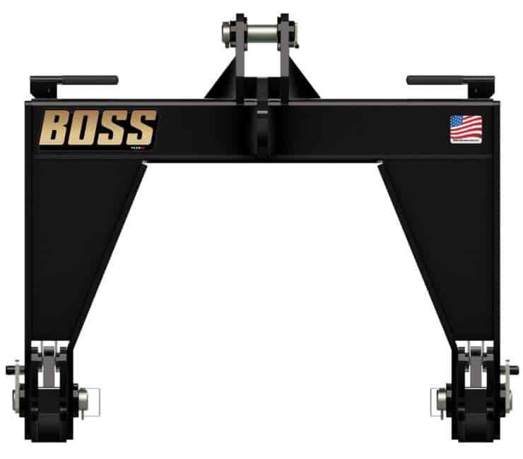 BOSS Cat-4 Quick Hitch