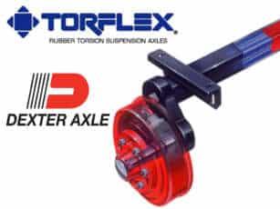 Dexter Torflex Axles