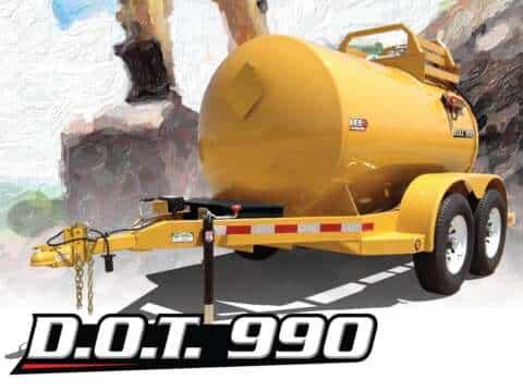 LEE D.O.T. 990 Diesel Fuel Trailer