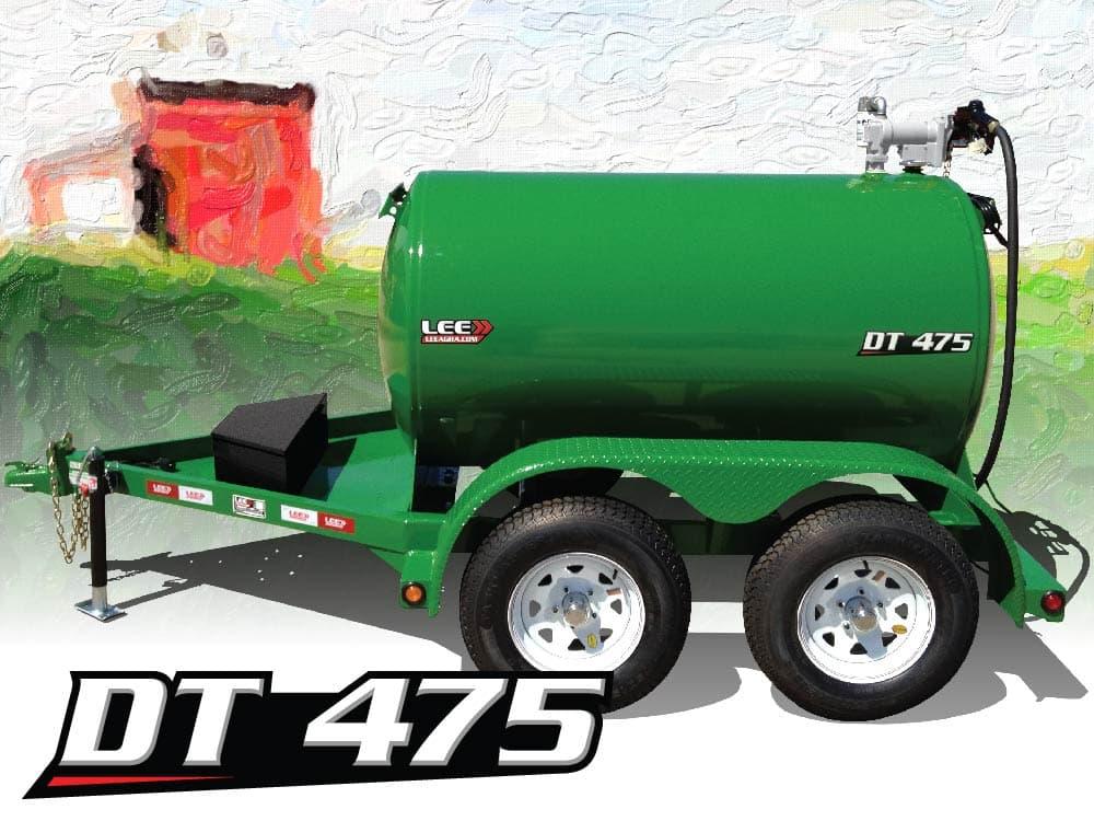 LEE DT 475 Diesel Fuel Trailer Logo