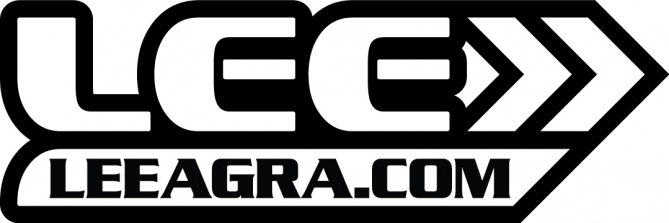 LeeAgra-Logo-WhiteRed-Flat-BW