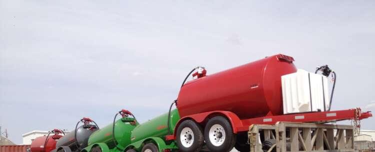 Illinois DEF diesel fuel trailer shipment
