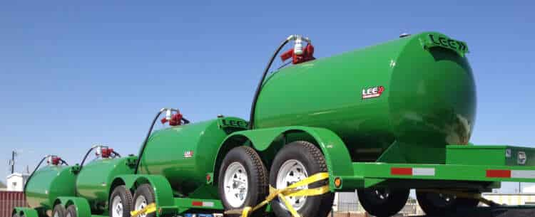 Central Texas Diesel Fuel Trailers