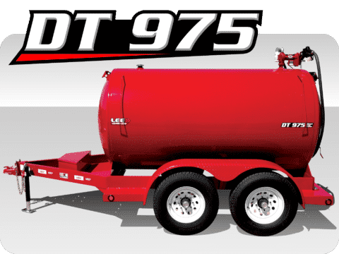 LeeAgra DT-975 Diesel Fuel Trailer