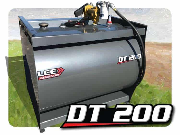 LEE DT 200 200 Gallon Tank with 13GPM Pump
