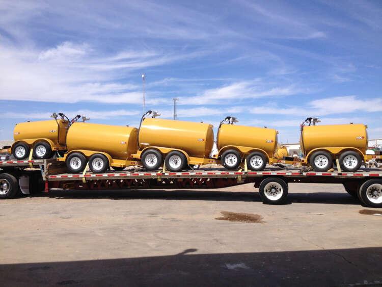 LeeAgra DOT trailer load highway ready.