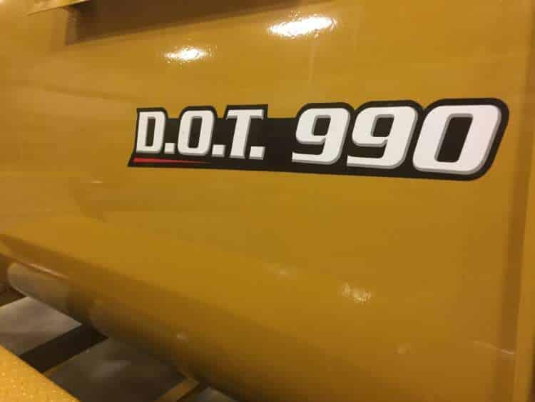 DOT 990 Fuel Trailers Logo