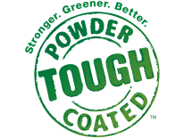 Powder Coated Tough Logo
