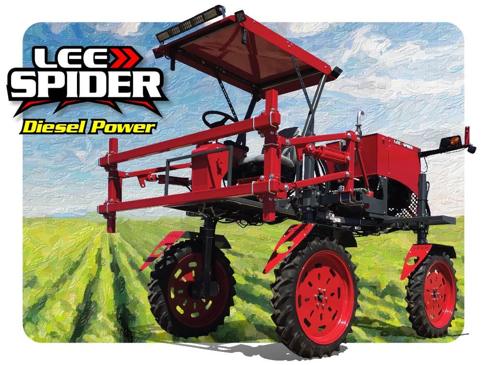 LEE Spider Diesel Power High Clearance Tractor