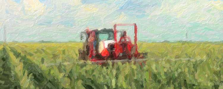 Specialty Crop Tractor by LEE