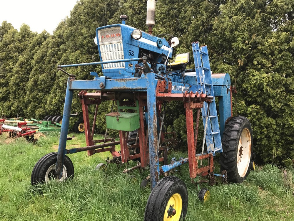 Nursery Sprayer W E Larson Conversion