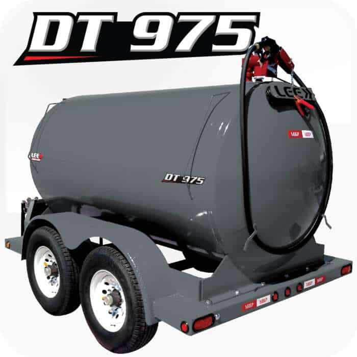 LEE DT 975 Diesel Fuel Trailer Gray Product 1