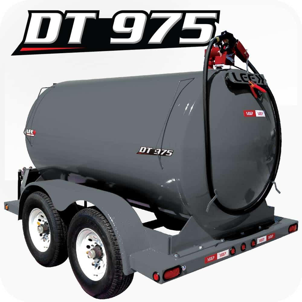 LEE DT 975 Diesel Fuel Trailer Gray Product 1
