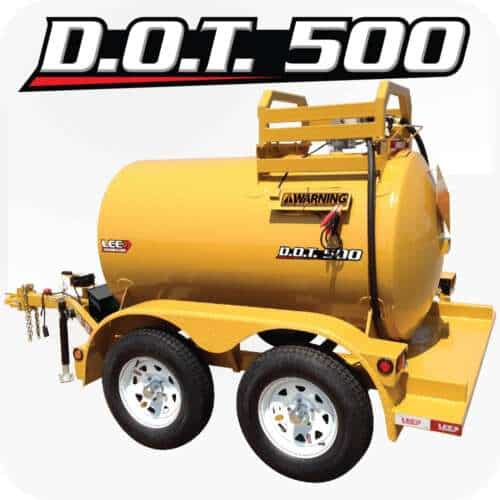 LEE DOT 500 Diesel Fuel Trailer Yellow Product 1