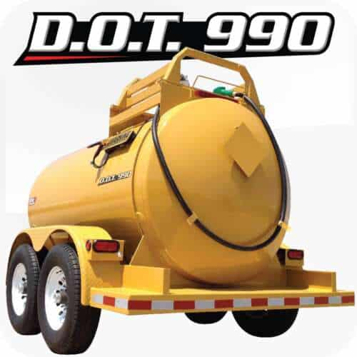 LEE DOT 990 Diesel Fuel Trailer Yellow Product 1